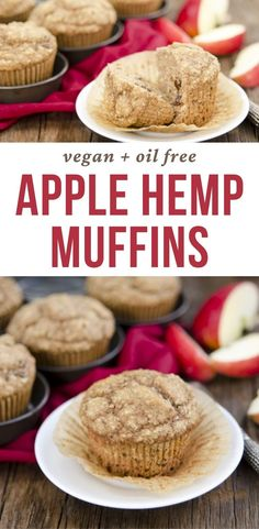 Moist, lightly spiced muffins with the added nutrition of hemp seed nuts. These are easy and quick, and sure to please both kids and adults! #veganrecipes #breakfastrecipes #veganbaking #recipe Vegan Breakfast Recipes, Breakfast Bowls, Vegan Recipes, Vegan Casserole, Vegan Muffins, Plant Based Breakfast, Afternoon Snacks, Vegan Baking, Healthy Alternatives