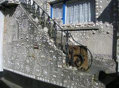 Polperro Sea Shell House by labyrinthium.deviantart.com