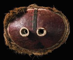 "Africa | Mask ""gitenga"" from the Pende people of DR Congo 