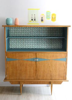 Trendy home decored art deco retro 18 Ideas Refurbished Furniture, Home Decor, Furniture Inspiration, Furniture Makeover, Vintage Furniture, Retro Furniture, Deco Sideboard, Upcycled Home Decor, Vintage Art Deco Sideboard
