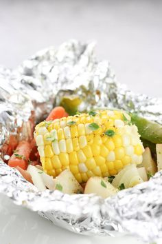 Hobo Potato Veggie Packets recipe made for those perfect summer campfire dinners or simply those nights you don't know what to make!