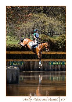 Such a surreal moment. 2009 Rolex CCI4*. Josh Walker photo.
