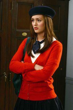 17 Outfits escolares de Blair Waldorf que amamos Mais