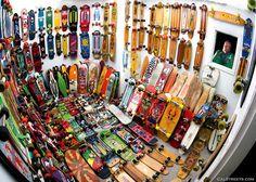 Longboards. Longboards everywhere.