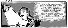 RABISCOS ENQUADRADOS: DESCE MAIS 3! n°  90,5: HELP I NEED SOMEBODY...