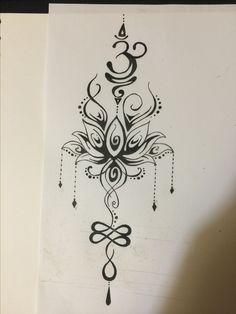 Tatuagem – Best Pins Live – tattoos - My Favorite Lotusblume Tattoo, Live Tattoo, Unalome Tattoo, Back Tattoo, Om Symbol Tattoo, Pretty Tattoos, Cute Tattoos, Beautiful Tattoos, Small Tattoos