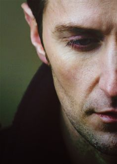 Richard Armitage, Le sigh, as I stroke his face.