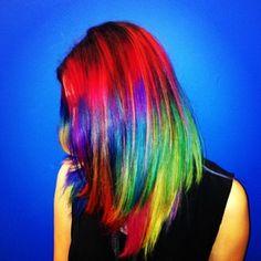 Personal project on Luce De Palchi, rainbow color by Lena Ott #lenaottcolor