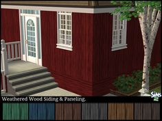 Set of 14 Weathered Wood Walls. 7 Siding & 7 Paneling in a variety of colors. Hope you enjoy. This is a custom texture, if you require a color not included within this set. Please let me know.