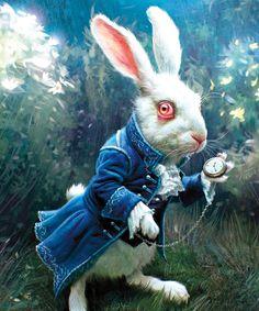 кролик алиса в стране чудес - Поиск в Google