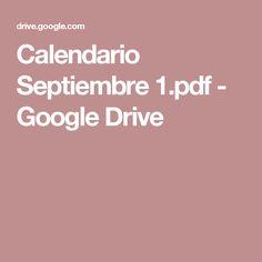 Calendario Septiembre 1.pdf - Google Drive