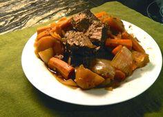 The Hunting Wife: Rosemary Venison Pot Roast