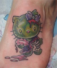 'lil hello kitty zombie - nothing wrong with that