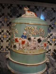 Staffordshire cheese dome
