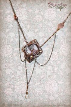 Naiad Tea Jewels  OOAK by Plumevine on Etsy