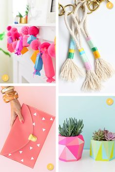 This week's links is all about bright spring colors!