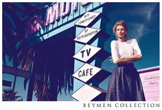 Retro Motel Fashion Ads - The Beymen Collection Spring 2013 Campaign Stars Michelle Buswell / #fashion #photography