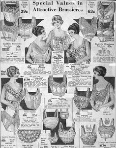 Fashionable Forties: Briefly about bras