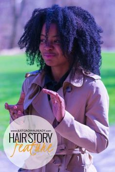 Natural hair feature