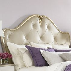 $1503 Marilyn Leather Headboard  Have to Have this!!!!!!!