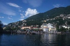 Locarno, in the Italian part of Switzerland.