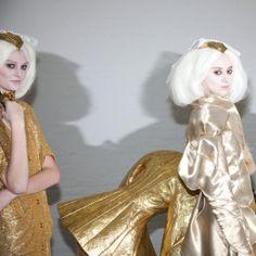 Backstage Beauty: New York Fashion Week Fall 2014 - thom browne fall 2014