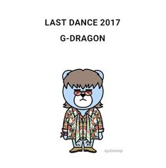 Bigbang Krunk, Last Dance, Jiyong, G Dragon, Yg Entertainment, Idol, Bear, Fictional Characters, Collection