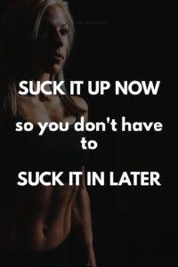 Suck it up now so you don't have to suck it in later. | www.simplebeautifullife.net
