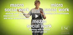 Intro video for new or soon-to-be Social Work Students - Explains macro, micro, and mezzo Social Work Social Work Theories, Trouble With The Curve, Psychology Careers, Exam Study, Sociology, Student Work, Social Justice, Small Groups, Helping Others