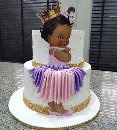 Getting hold of this baby was KZXVDUGWMDHDYEVWV! Yet another piece for our sweet for… Cake Icing, Eat Cake, Beautiful Cakes, Amazing Cakes, Baby Girl Cakes, Occasion Cakes, Cute Cakes, Creative Cakes, Cupcake Cookies