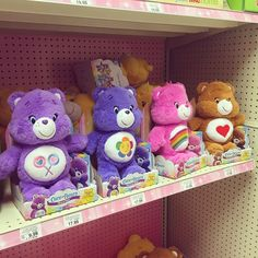 "Care Bears Plush! Available at Target, Walmart and Toys ""R"" Us"