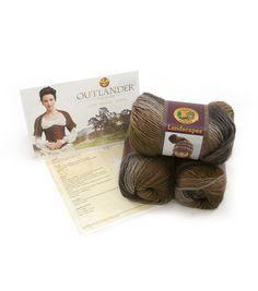 Outlander Garment Crochet Kit-Claire's Heroic Healing Shrug