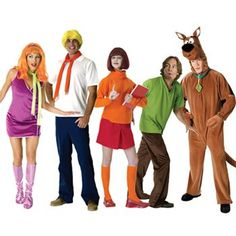 Scooby-Doo Costume Collection #Halloween Halloween Boo, Diy Halloween Costumes, Holidays Halloween, Happy Halloween, Halloween Ideas, Costume Ideas, Scooby Doo Costumes, Spooky Scary, Group Costumes