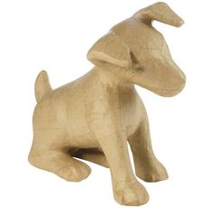 Buy Decopatch Mache Puppy from the Mache Letters, Numbers & Shapes range at Hobbycraft. Perros Jack Russell, Chien Jack Russel, Jack Russell Dogs, Ceramic Animals, Clay Animals, Jack Russells, Pottery Classes, Animal Sculptures, Hobbies And Crafts