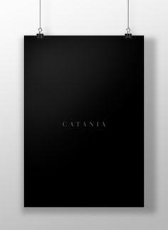 """Poster design - """"34 MANIFESTI PER CATANIA"""""""