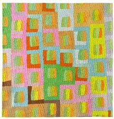 Numerous Cacti, Ursula König, love the colors and movement!