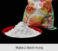Mąka z fasoli mung PO WYROBIENIU Z WODĄ MĄKA ZIEMNIACZANA. CIASTO NA HONG HONG PIEROŻKI