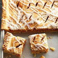 Frosted Apple Slab Pie Recipe