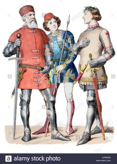 14th-century-xiv-1300s-italy-from-left-to-right-venetian-admiral-soldier-DJRW3M.jpg (992×1390)