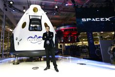 SpaceX unveils sleek new spaceship | New York Post