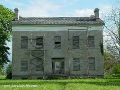 Summit Mansion in Lockport, New York, built in 1834 is alleged to have been a stop on the Underground Railroad. Said to be haunted.