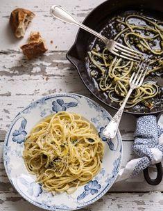Pâtes citron-kale - Cuisiner comme Mimi Thorisson - Elle à Table