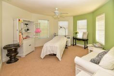 Scary Room.  Tips for Realtors: If you have an examination / massage room in your listing just remove the table for the picture.