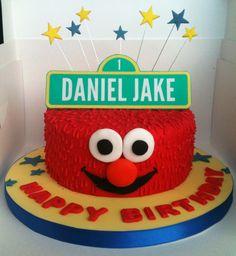Queenie Cakes Elmo Birthday Cake