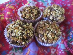 Gezondere Cruesli Chocolade muffins
