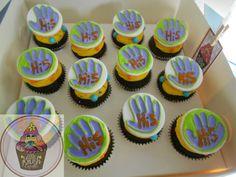 Hi5 cupcakes @ https://www.facebook.com/pages/Little-Krush-Cupcakes-NZ/485728288124195