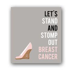 Breast cancer poster. #dream