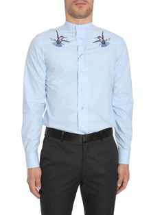 Best price on the market at italist.com Alexander McQueen  CELESTE  SHIRTS.