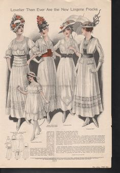 1915 Bolero Empire Dress Fashion