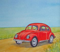 Red Beetle Artist: Maureen Crofts £75.00